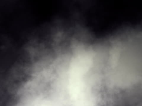 Dark swirling smoky clouds looping animation SD video