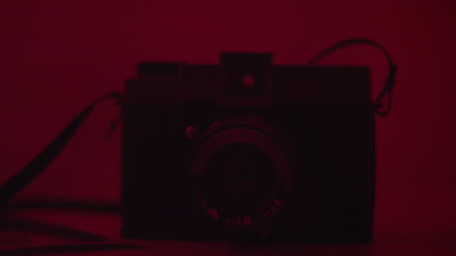 Darkroom Photography Materials Develop_Old Camera Lenses_3 video