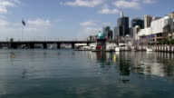 Darling harbour on a summer day video