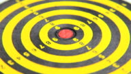 Dartboard bullseye video