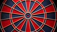 dartboard,close up video