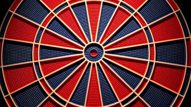 dartboard,close up video