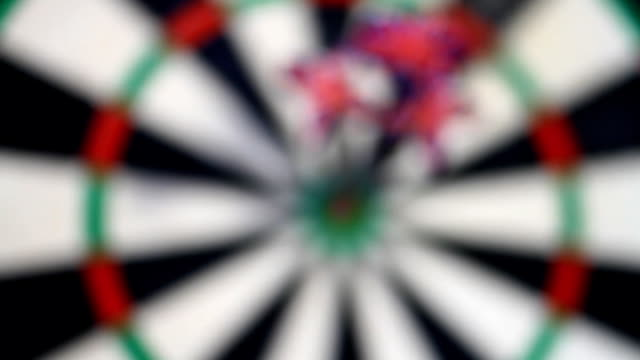 Darts Coming into Focus video