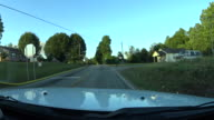Dash cam footage from Fire Chief Vehicle video