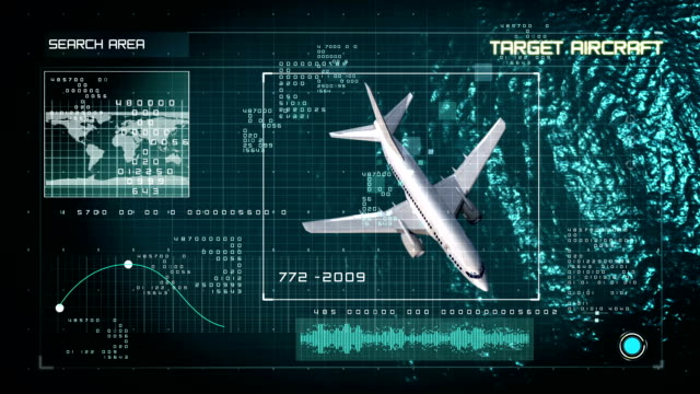 Data Aircraft Search interface video