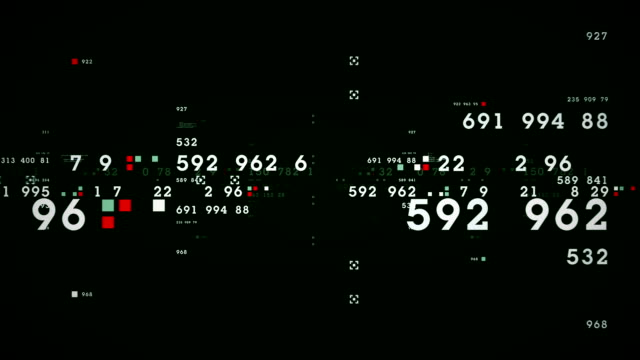 Data and Numbers Green video