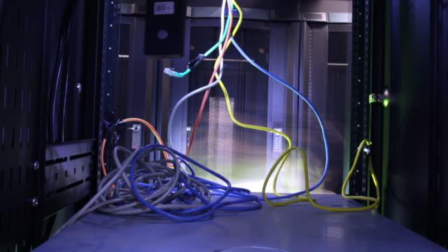 Data Center computer server timelapse video