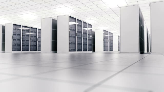 Data Center. Loop video