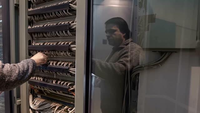 IT data center servers video