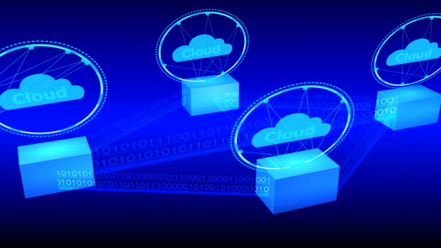 Data cloud storage technology. video