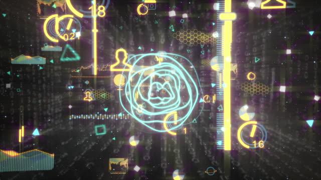 Data Code Digital Technology video