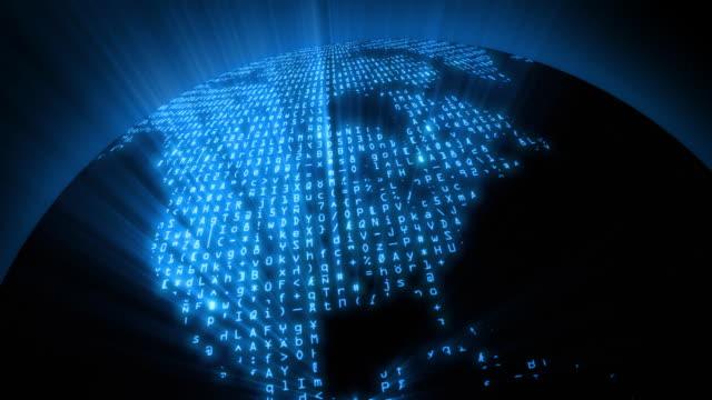 Data Code Network - Global Digital Matrix video