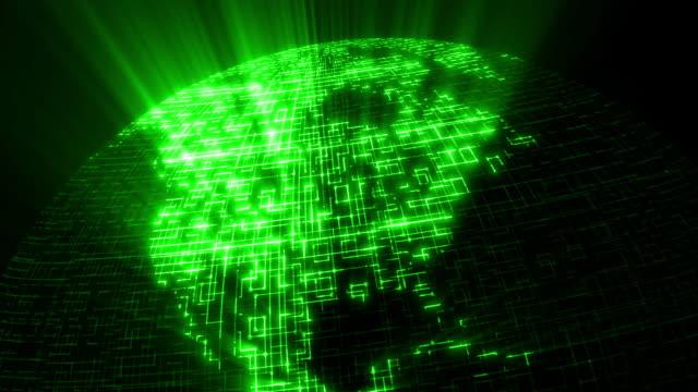 Data Code Network - N. America video