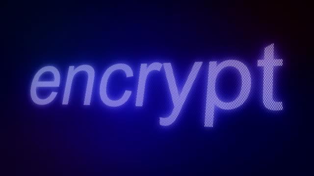 Data Encryption video