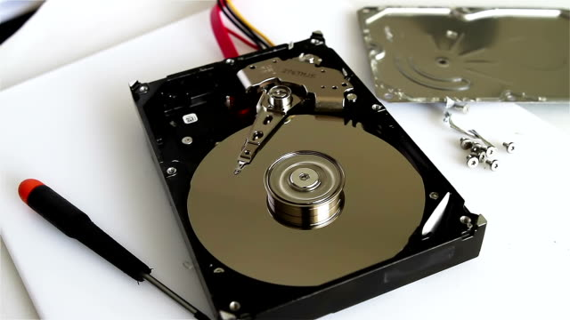 Data recovery concept video