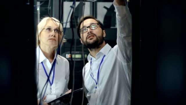 Data Storage Room Inspection video