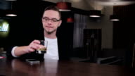 A date at the bar video