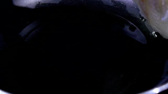 Dawlish fried slow motion video