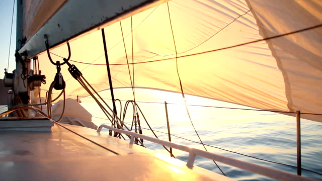 Dawn sailing video