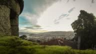 Dawn timelapse of Vigo, Spain video