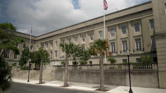 Day Exterior Establishing Shot Wilmington Court House video