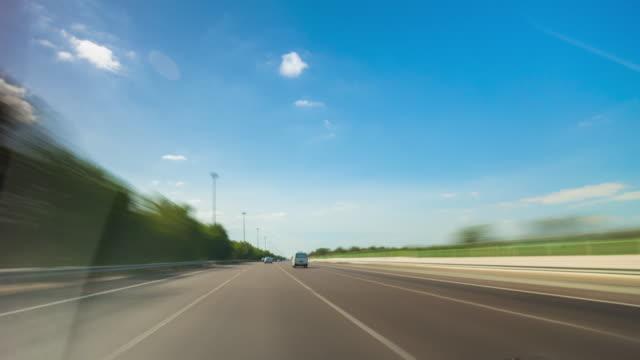 day light dubai to abu dhabi road trip traffic street view panorama 4k time lapse uae video
