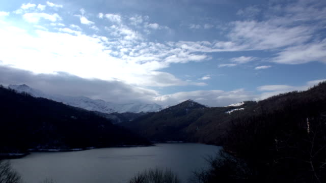 Day time lapse in mountains video