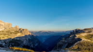 Day to Dusk timelapse at Tri Crime,Dolomites italy video
