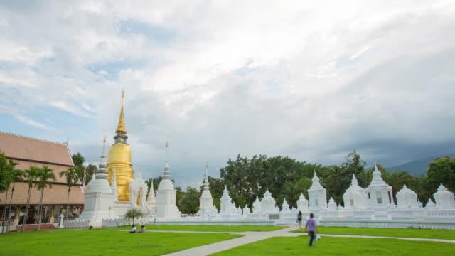 Day to night of wat suandok of Chiangmai, Thailand) video