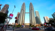 Day to Night: Petrona Towers timelapse video