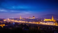 Day to Night Time Lapse of Florence, Italy video
