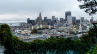 Daybreak over San Francisco video