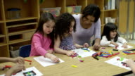 Daycare Arts and Crafts video