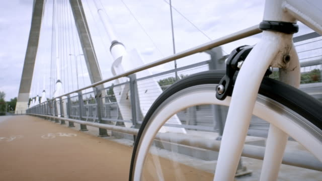 Daytime bike riding. video