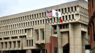 Daytime Boston City Hall Establishing Shot video