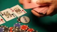 HD: Dealing cards video