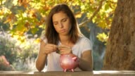 Debt repayment  fees of a student load or mortgage causing financial stress video