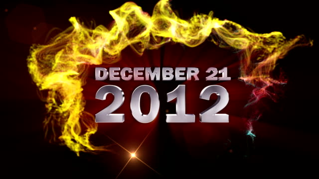 December 21, 2012 Text in Particles video