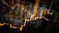 Declining Financial Charts Loop video