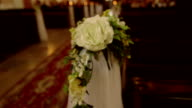 decorated table wedding video