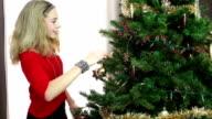 Decorating Christmas Tree video