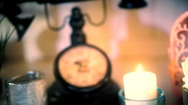 Decorative Vintage Clock video