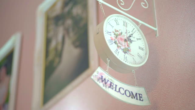 Decorative Vintage Wall Clock video
