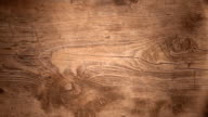 Decrease lighting wooden texture with natural wood pattern video
