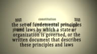 Definition: Constitution video