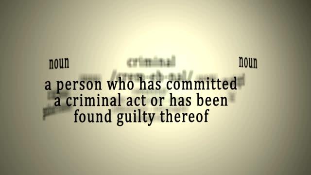 Definition: Criminal video