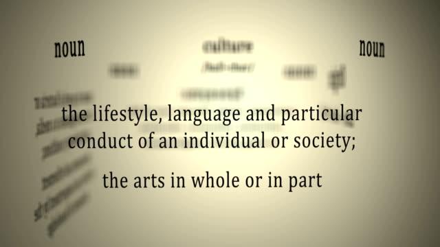 Definition: Culture video