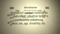 Definition: Discrimination video