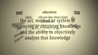 Definition: Education video