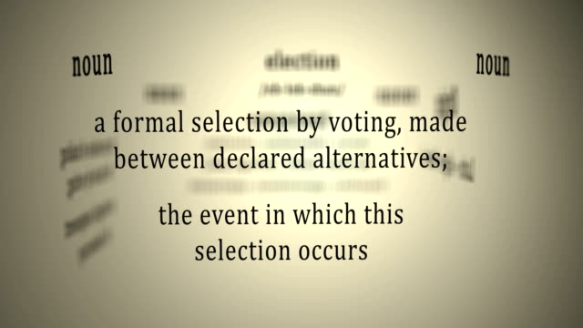 Definition: Election video
